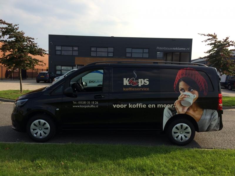 Koops Koffie Vito reclame auto