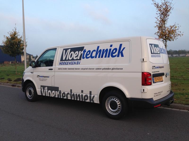 Vloertechniek Hoogeveen autobelettering