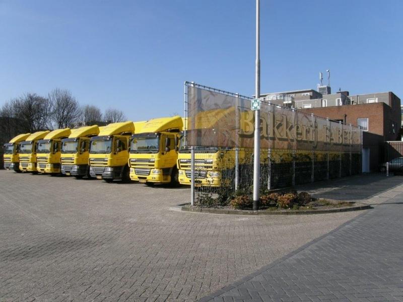 Bakkerij Faber wagenpark