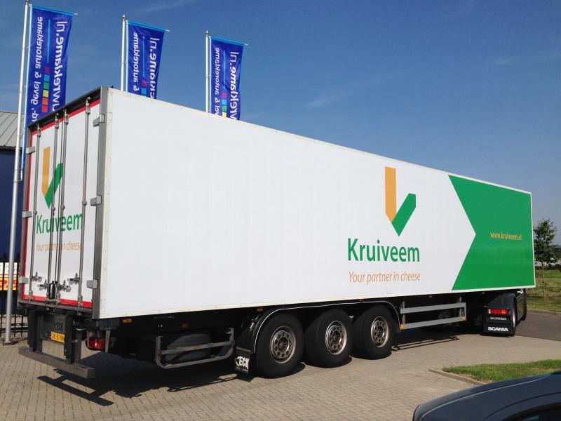 Vrachtwagenreclame Kruiveem