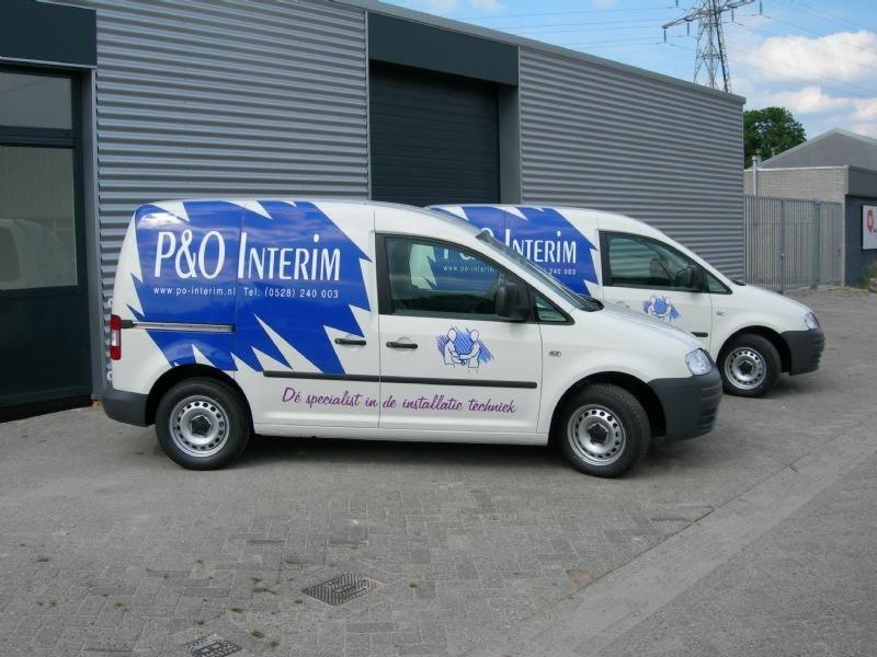 P&O reclame auto