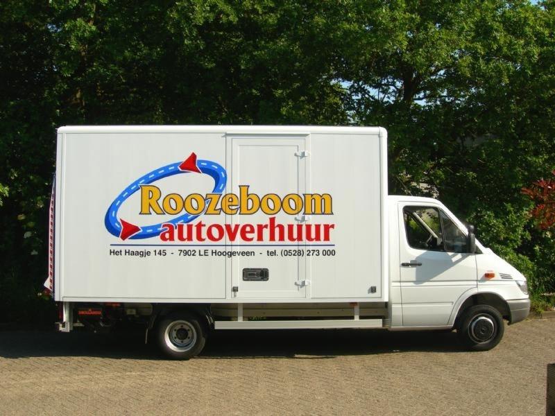 Roozeboom bakwagen reclame