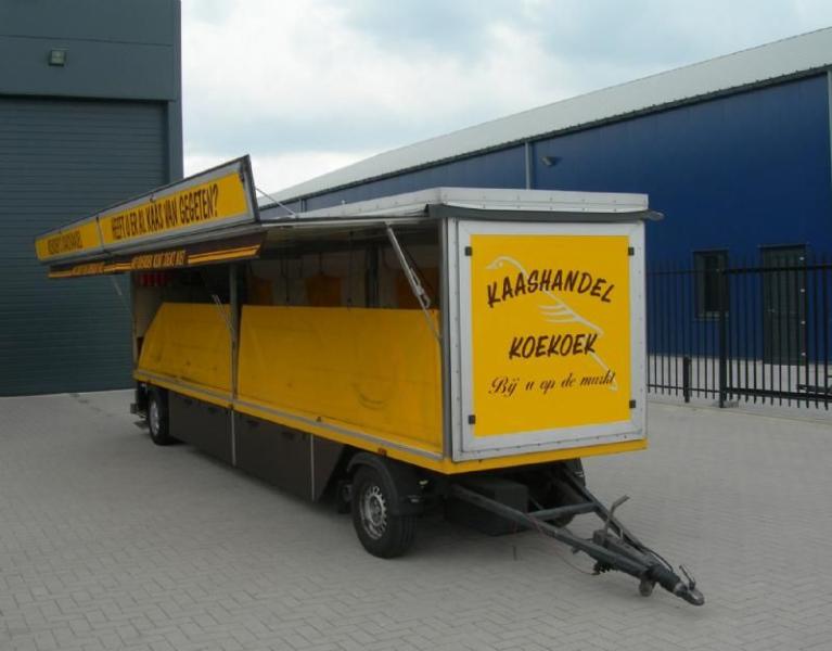 Marktkraam belettering Koekoek Hoogeveen Drenthe