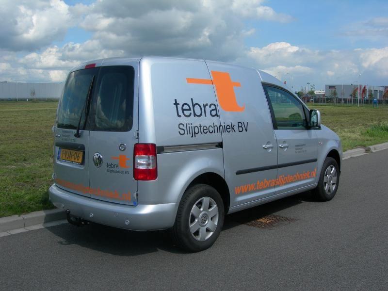 Tebra slijptechniek autobelettering
