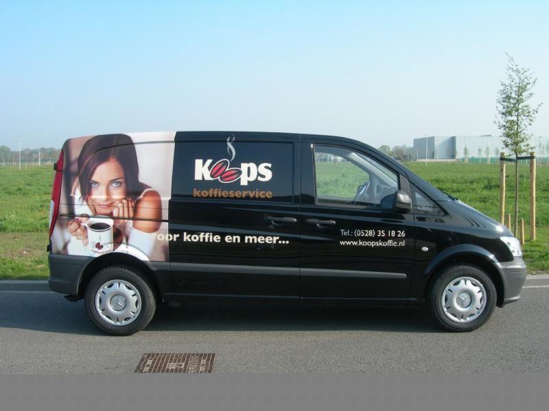 Koops Koffie Service diverse auto's