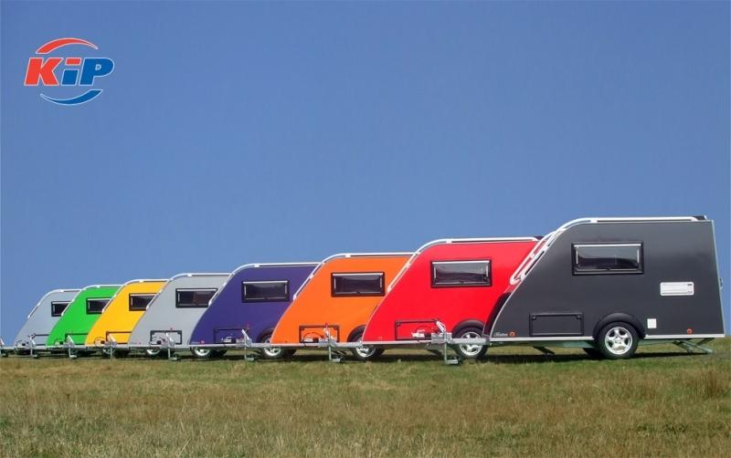 Kip caravans diverse kleuren wrap
