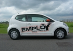 Employ belettering auto