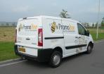 Promobee autobelettering Hoogeveen