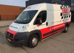CTS courier carwrapping Hoogeveen