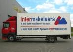 Vrachtwagen intermakelaars reclame