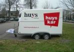 Aanhanger Huyskar reclame