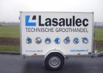 Aanhanger belettering Lasaulec