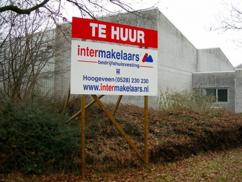 Groot tekoop bord Intermakelaars