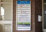 Portaalborden Centrum welzijn en gezondheid hoogeveen