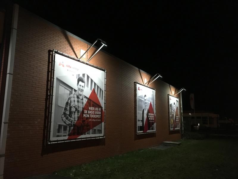 Alfa-College Hoogeveen verlicht