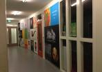 Fotowanden Roelof van Echten College Hoogeveen