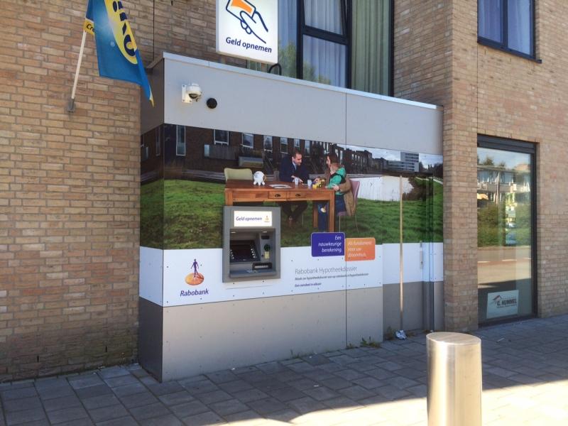 Rabobank Nije Neering Hoogeveen belettering