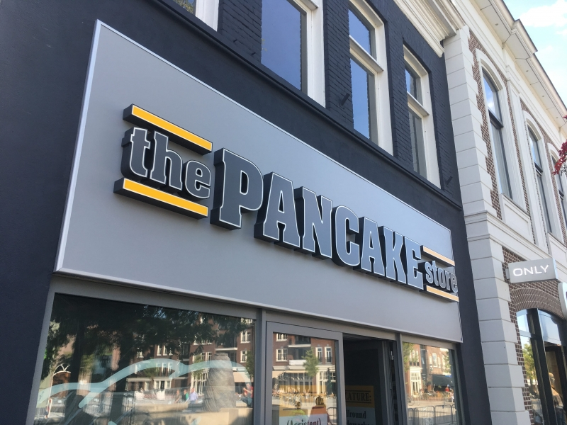 The Pancake store details