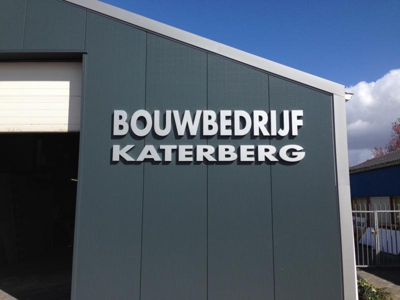 Bouwbedrijf Katerberg doosletters