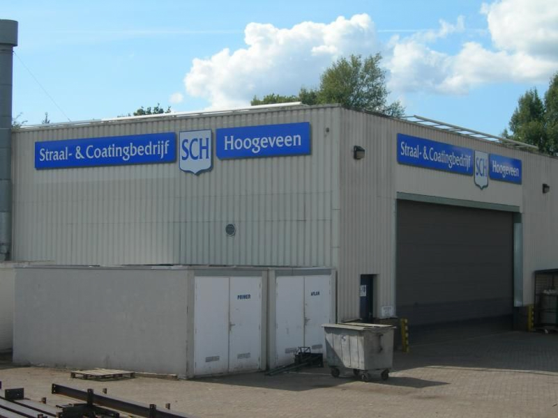 SCH coating reclameborden
