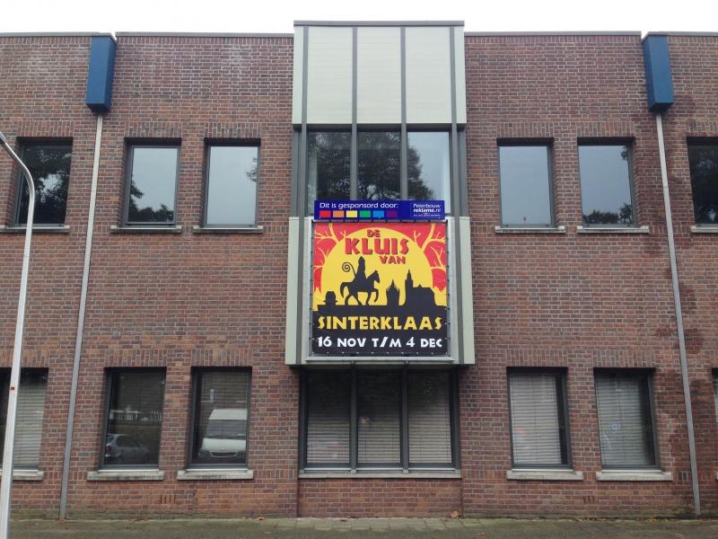 Kluis van Sinterklaas Hoogeveen spanraam