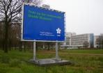 NAM museum reclame Jolima op stelconplaat