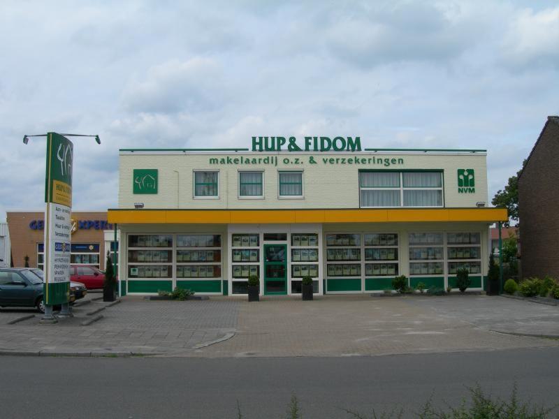 Hup en fidom Hoogeveen doosletters LED