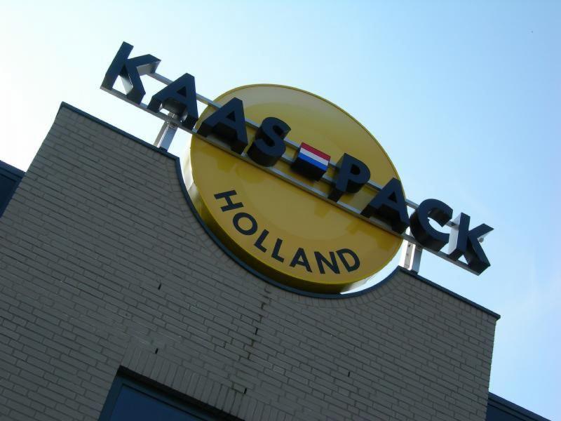 Kaas-pack reclame doosletters Hoogeveen