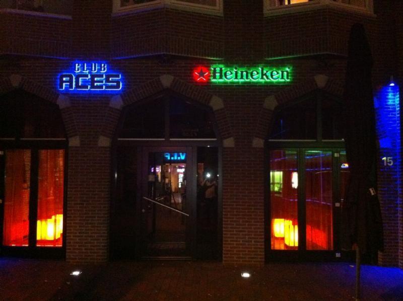 lichtreclame Poort van Assen LED