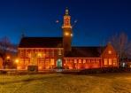 Gemeentehuis Hoogeveen oranje spots