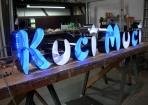 Kuci Muci lichtreclame LED