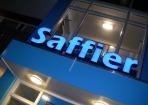 Saffier Hoogeveen Lichtreclame LED Blauw