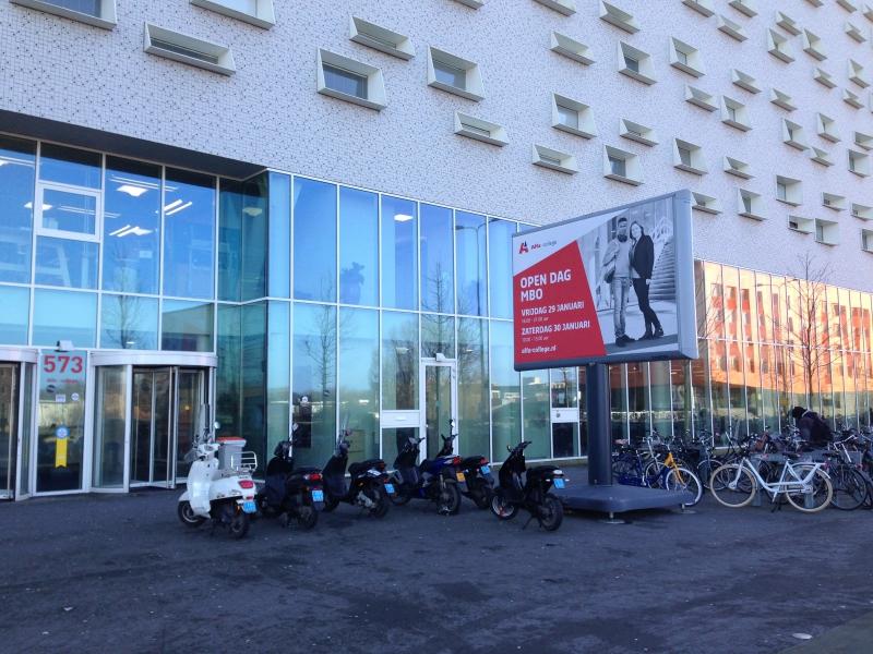 Trotter Alfa-College Boumaboulevard Groningen