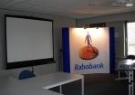 Beurswand Rabobank