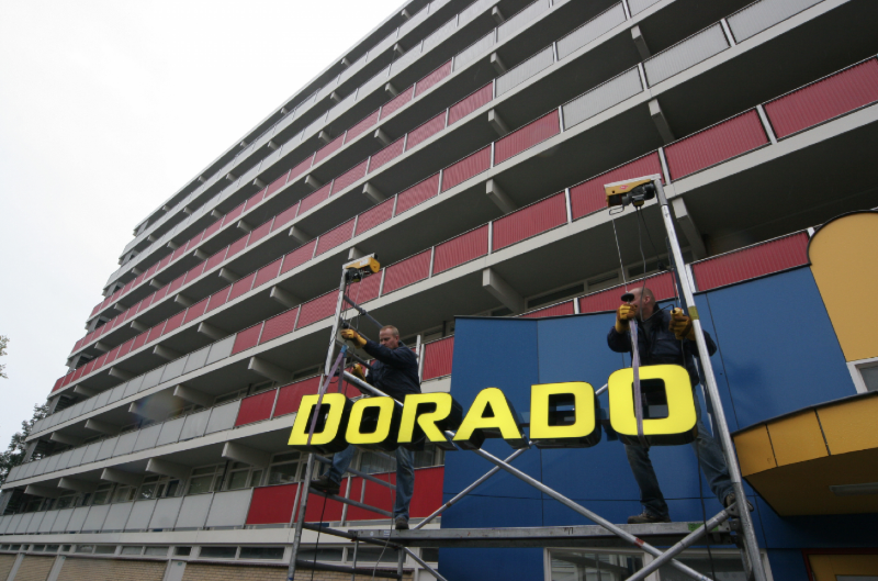 Verlichting Dorado montage
