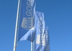 Het Goed Coevorden baniervlaggen