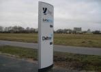 Zuil verzamelgebouw Hoogeveen